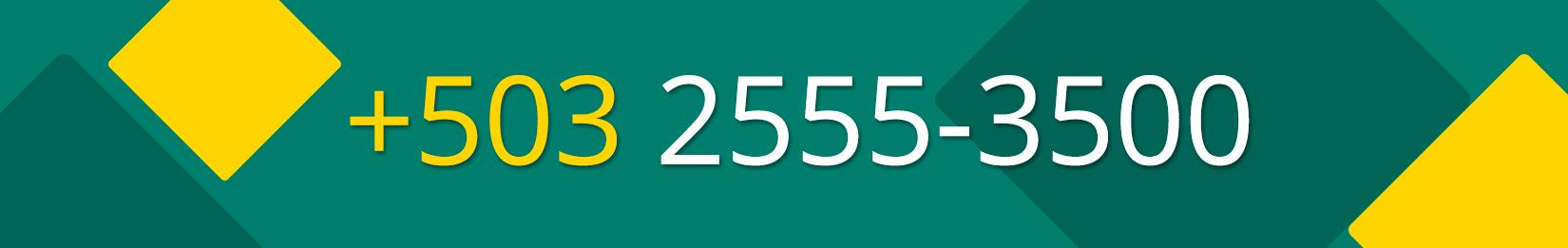 Teléfono FEDECACES +503 2555 3500
