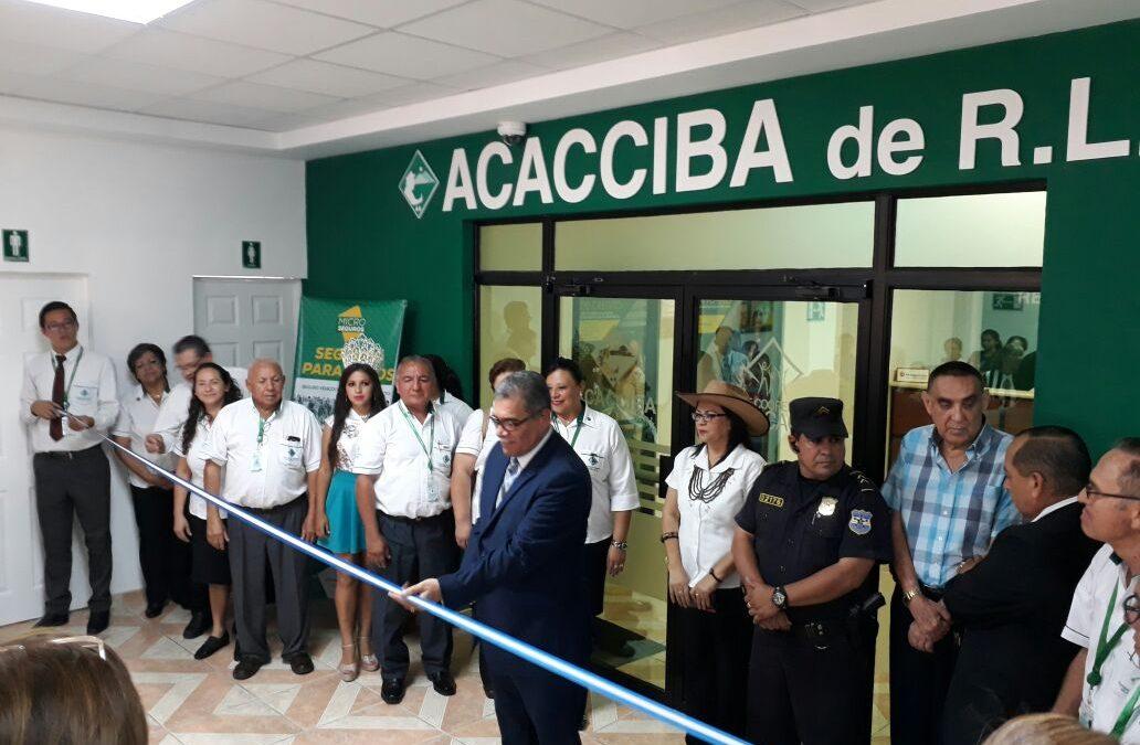 Relanzamiento Agencia Ciudad El triunfo, Usulután ACACCIBA de R.L