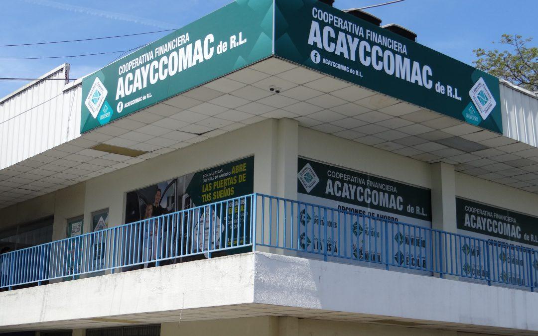 Nueva agencia de ACAYCCOMAC de R.L. en San Salvador
