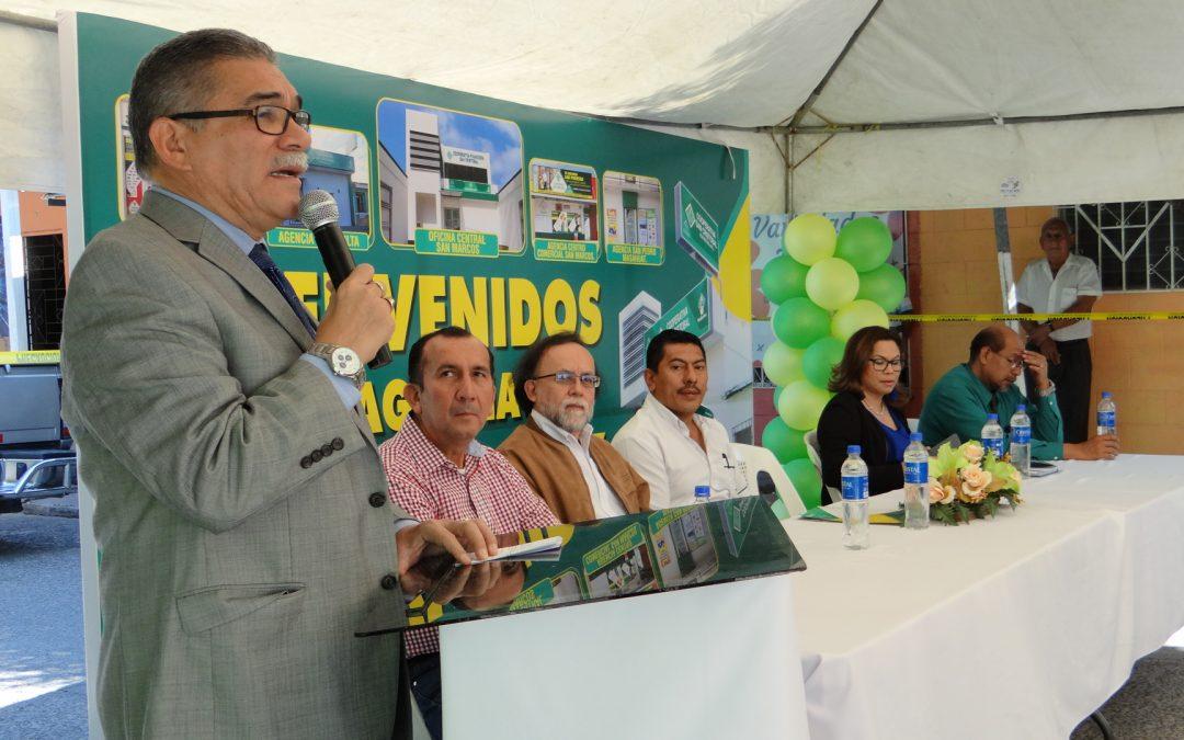 INAUGURACIÓN DE LA NUEVA AGENCIA DE ACACRECOSC EN LA PAZ