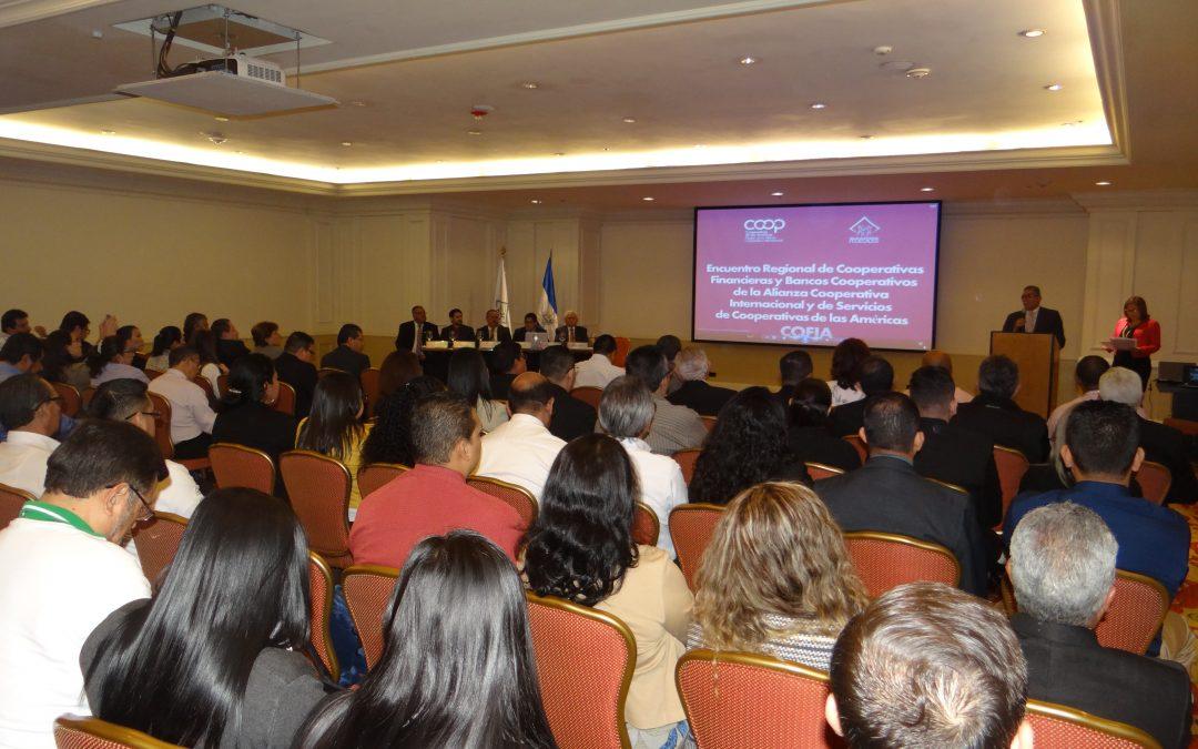 El liderazgo cooperativo continental se reúne en El Salvador
