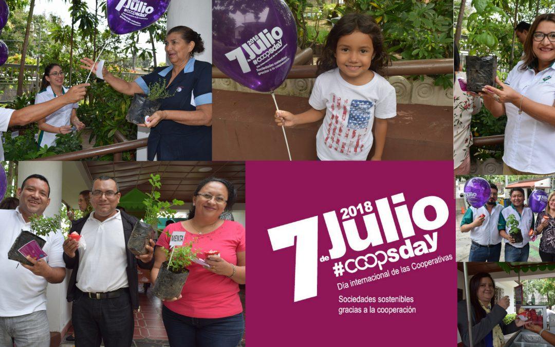 Celebramos el Día Internacional de las Cooperativas y el Día del Cooperativista Salvadoreño