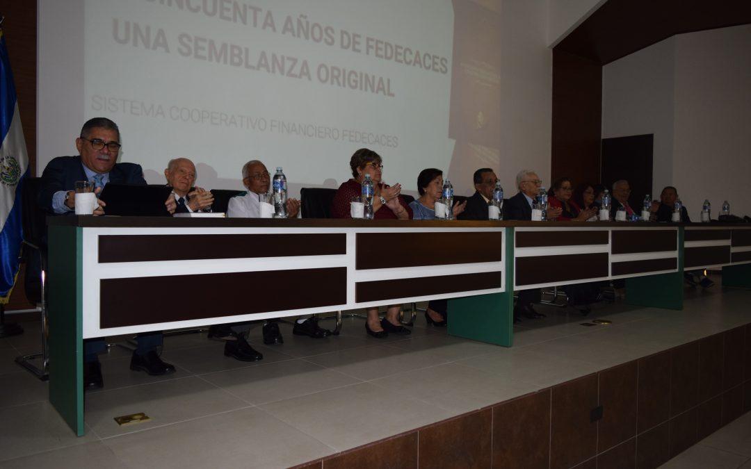 """PRESENTACIÓN DEL LIBRO """"A CINCUENTA AÑOS DE FEDECACES: UNA SEMBLANZA ORIGINAL"""""""