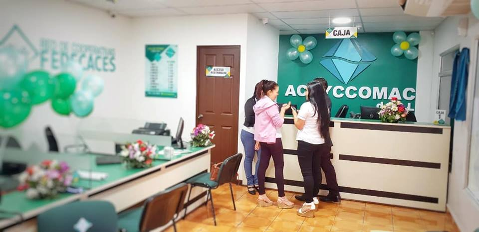 Nueva Agencia de la Cooperativa ACAYCCOMAC de R.L.