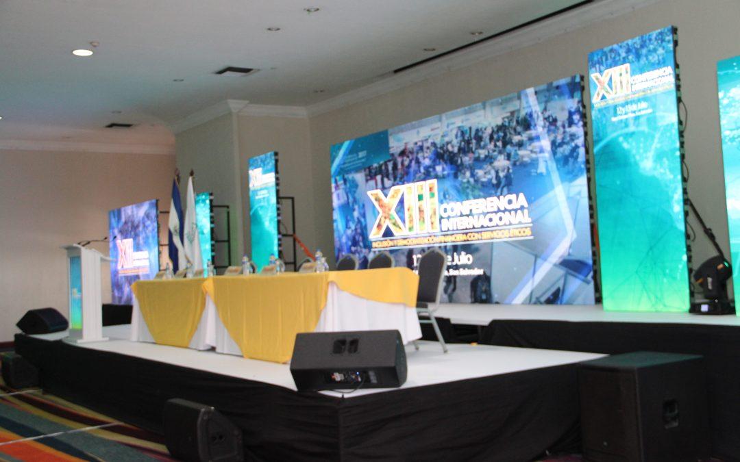 XIII CONFERENCIA INTERNACIONAL