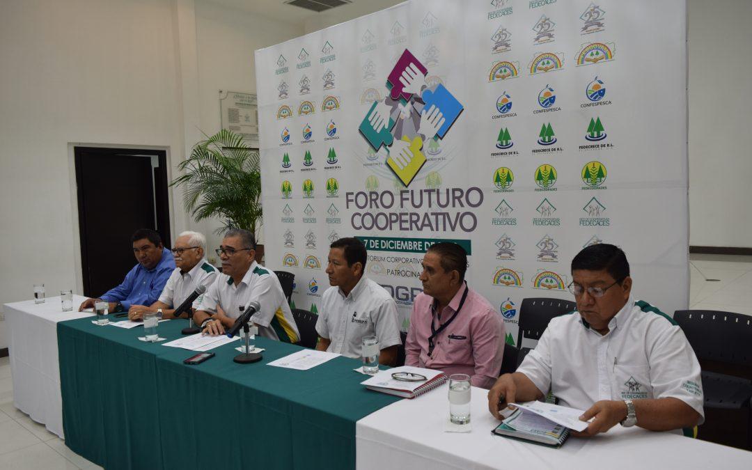 Conferencia de Prensa: Primer Foro Futuro Cooperativo «Juntos haremos el futuro de las Cooperativas»
